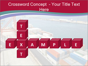Large container ship PowerPoint Template - Slide 82