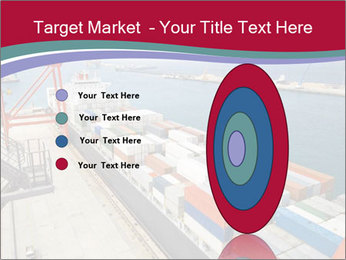 Large container ship PowerPoint Template - Slide 84