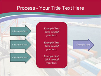 Large container ship PowerPoint Template - Slide 85