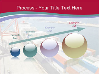 Large container ship PowerPoint Template - Slide 87