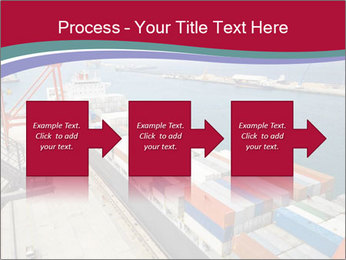 Large container ship PowerPoint Template - Slide 88