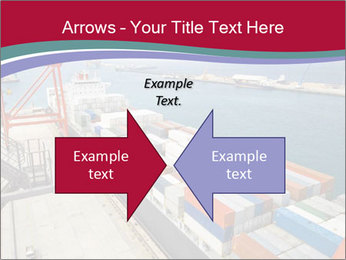 Large container ship PowerPoint Template - Slide 90