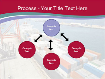 Large container ship PowerPoint Template - Slide 91