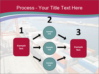 Large container ship PowerPoint Template - Slide 92