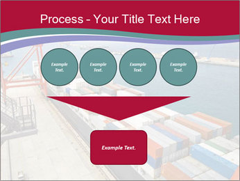 Large container ship PowerPoint Template - Slide 93
