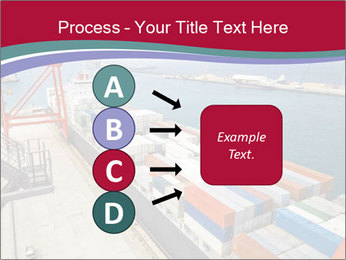 Large container ship PowerPoint Template - Slide 94