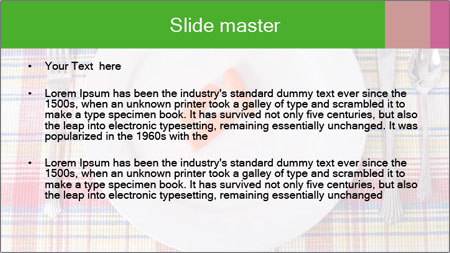 Three carrots PowerPoint Template - Slide 2