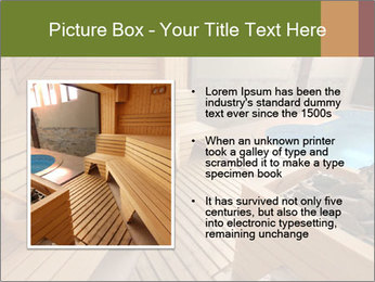 Sauna PowerPoint Template - Slide 13