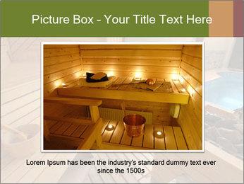 Sauna PowerPoint Template - Slide 16