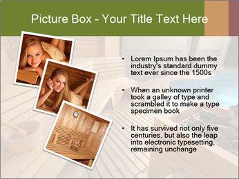 Sauna PowerPoint Template - Slide 17