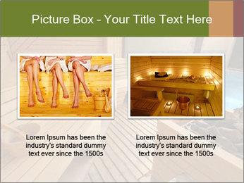 Sauna PowerPoint Template - Slide 18