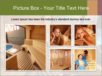 Sauna PowerPoint Template - Slide 19