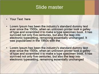 Sauna PowerPoint Template - Slide 2