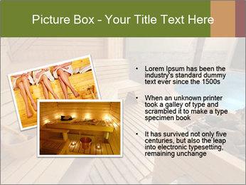 Sauna PowerPoint Template - Slide 20