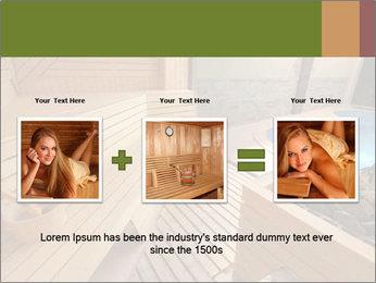 Sauna PowerPoint Template - Slide 22