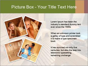 Sauna PowerPoint Template - Slide 23