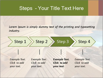 Sauna PowerPoint Template - Slide 4