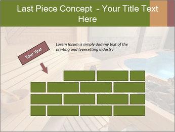 Sauna PowerPoint Template - Slide 46