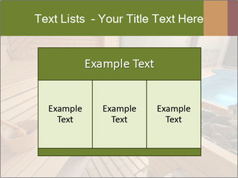 Sauna PowerPoint Template - Slide 59