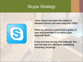 Sauna PowerPoint Template - Slide 8