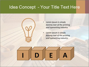 Sauna PowerPoint Template - Slide 80
