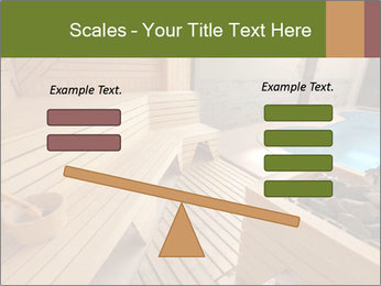 Sauna PowerPoint Template - Slide 89