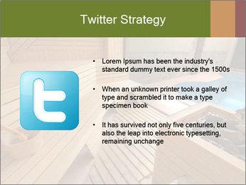 Sauna PowerPoint Template - Slide 9