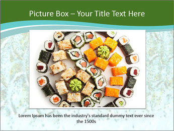 The fish PowerPoint Template - Slide 15