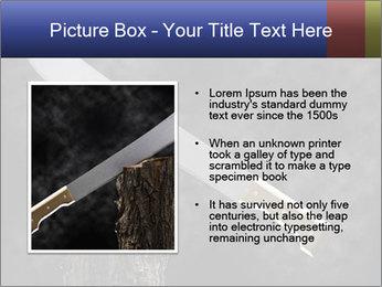 Machete PowerPoint Template - Slide 13