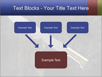 Machete PowerPoint Template - Slide 70