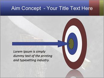 Machete PowerPoint Template - Slide 83