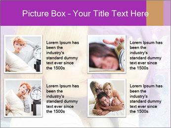 Sleeping PowerPoint Template - Slide 14