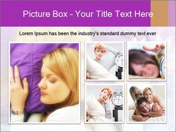 Sleeping PowerPoint Template - Slide 19