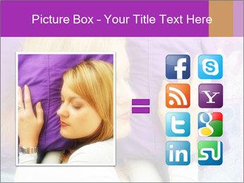 Sleeping PowerPoint Template - Slide 21