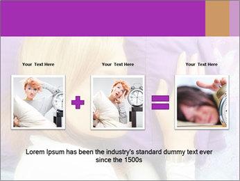 Sleeping PowerPoint Template - Slide 22