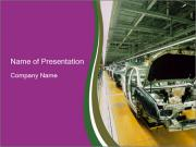 Car production PowerPoint Templates