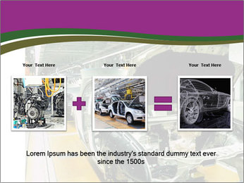 Car production PowerPoint Template - Slide 22