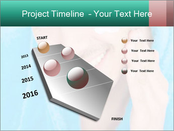 Man putting cream PowerPoint Template - Slide 26