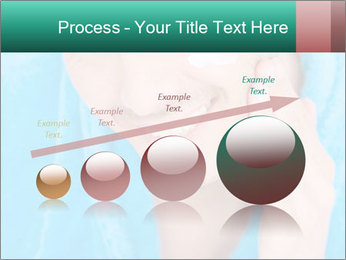 Man putting cream PowerPoint Template - Slide 87