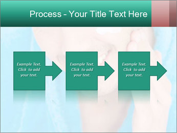Man putting cream PowerPoint Template - Slide 88