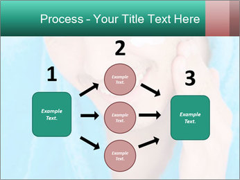 Man putting cream PowerPoint Template - Slide 92