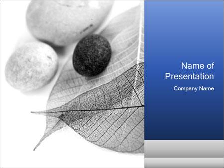 Zen stones PowerPoint Template