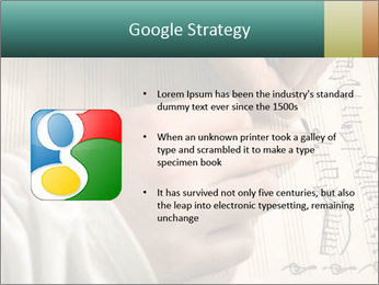 The hand writes musical PowerPoint Template - Slide 10