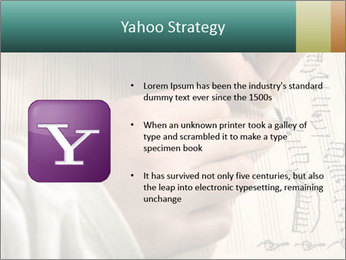 The hand writes musical PowerPoint Template - Slide 11
