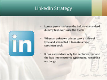 The hand writes musical PowerPoint Template - Slide 12