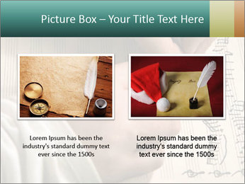 The hand writes musical PowerPoint Template - Slide 18