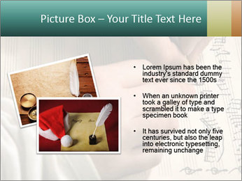 The hand writes musical PowerPoint Template - Slide 20