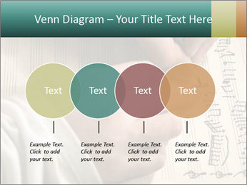 The hand writes musical PowerPoint Template - Slide 32