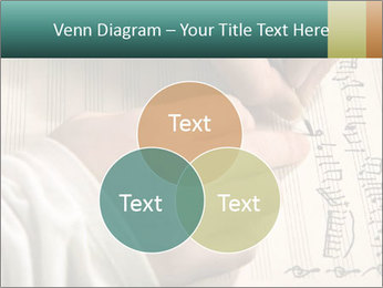 The hand writes musical PowerPoint Template - Slide 33