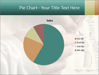 The hand writes musical PowerPoint Template - Slide 36